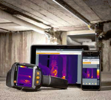 Application testo Thermography