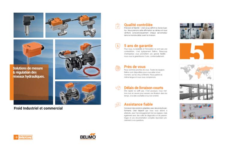 brochure Belimo froid industriel commercial