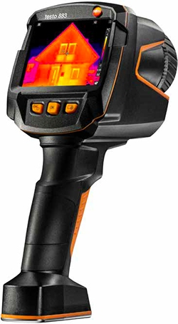 testo caméra thermique régulation