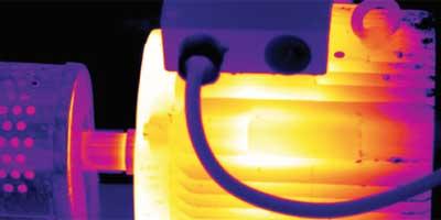installations mécaniques avec caméra thermique