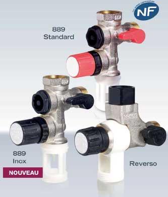 Nouveau groupe de s curit 889 inox pour eaux agressives - Changer groupe de securite chaudiere gaz ...