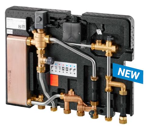 Module thermique d'appartement à réglage électronique Regudis W-HTE