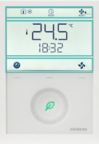 Siemens écran paramétrage