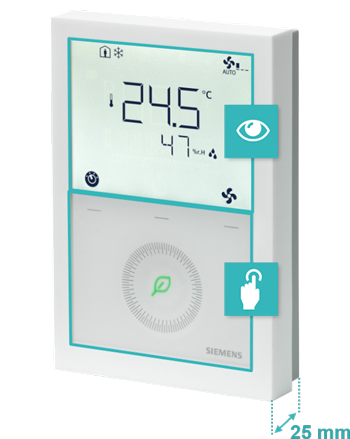 Siemens thermostat design