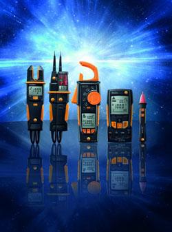 Nouvelle gamme d'appareils de mesure électriques de Testo