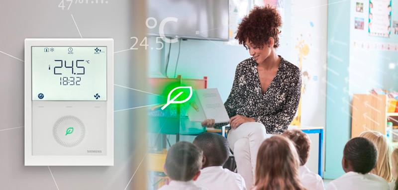 Thermostat communication écoles QAI
