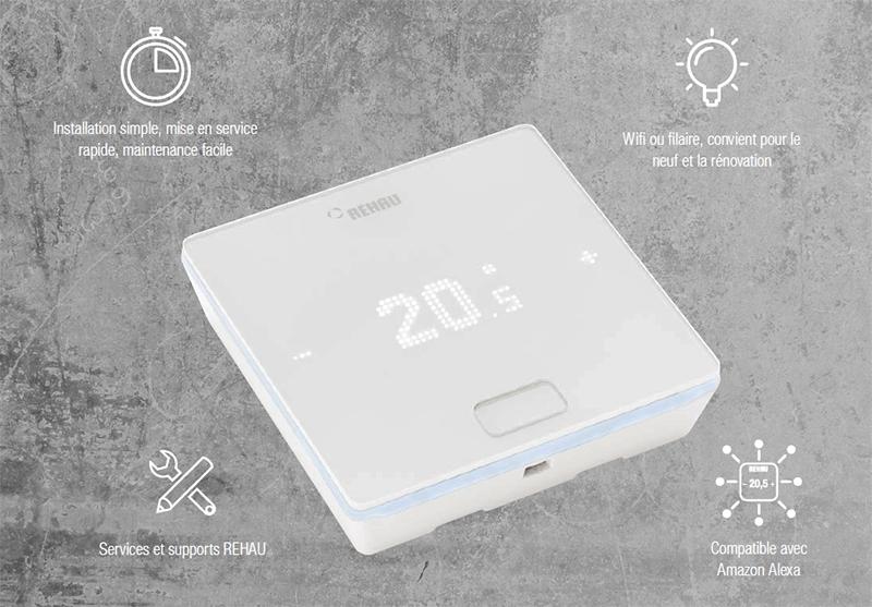Régulation thermostat habitat Nea Smart 2.0
