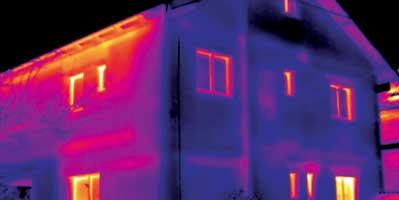 vices de construction avec caméra thermique