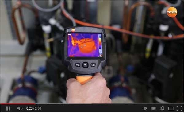 Vidéo caméra thermique testo 870