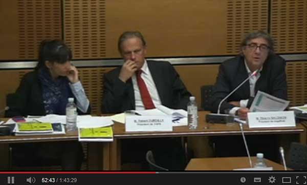 Audition de l'Association négaWatt à l'Assemblée Nationale sur les coûts de la filière nucléaire