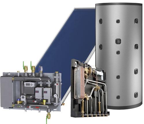 système de chauffage solaire Comfort E Maxi