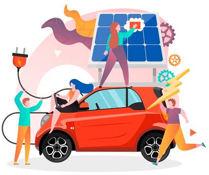 recharge de véhicule électrique