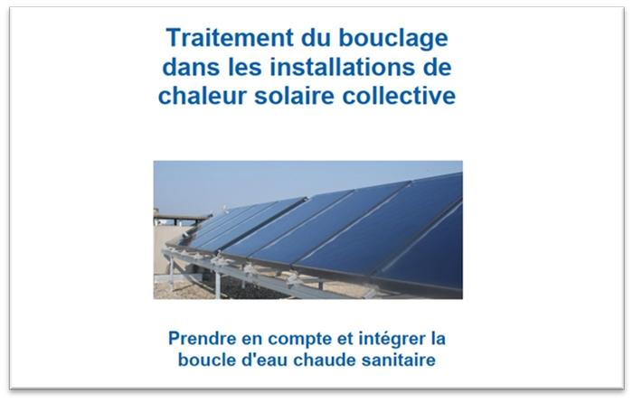 guide bouclage traitement ecs solaire