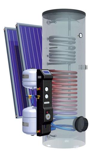 kit solaire thermique compact