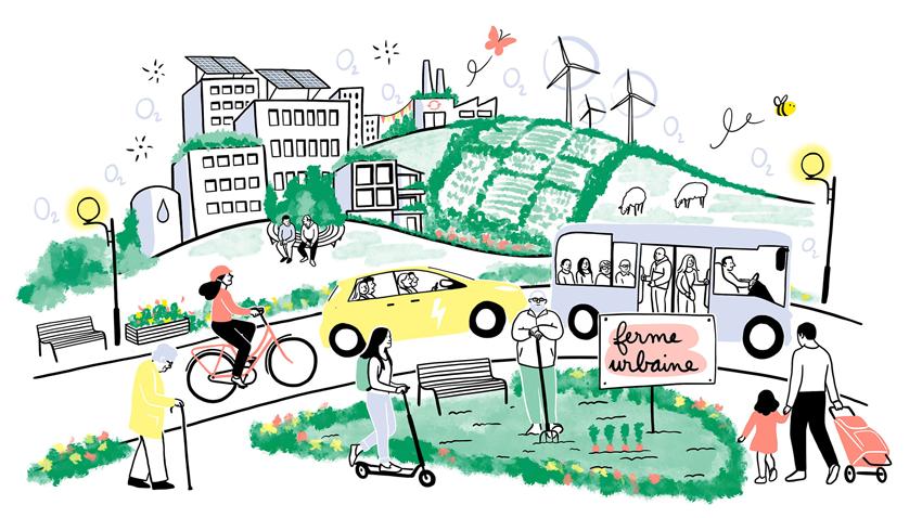 ville durable urbaine