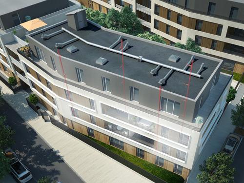 Immeuble avec EasyVEC®