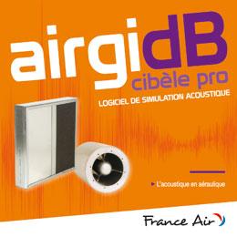 Logiciels de simulation acoustiques AirgidB/Cibele Pro