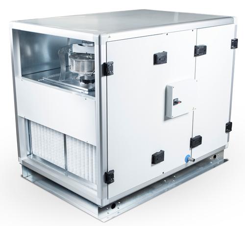 gamme de centrale de traitement d'air séries CASA