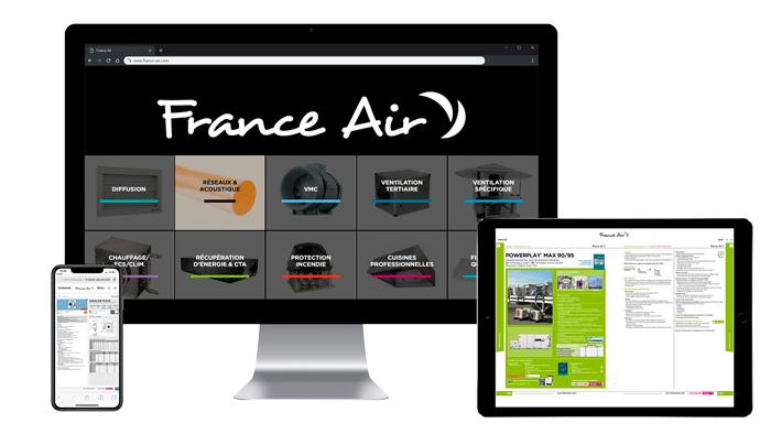 Catalogue France Air en version digitale