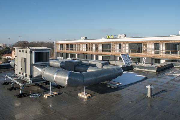 ComfoAir XL en toiture