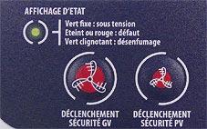 Affichage d'état Pilotair