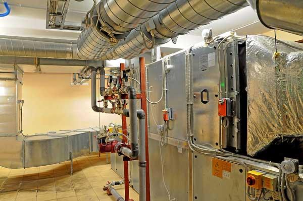 Ventilation avec centrale de traitement d'air