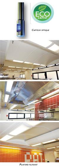 ventilation de cuisines p dagogiques par saftair. Black Bedroom Furniture Sets. Home Design Ideas