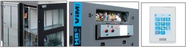 zoom VMC double flux et télécommande
