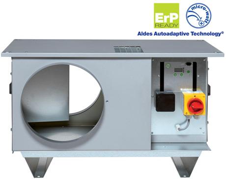 caissons de ventilation C4 basse consommation micro-watt