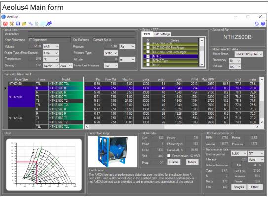 logiciel Aeolus 4