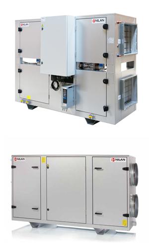 VPM Nilan double flux ventilation