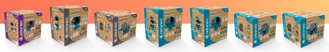 nouveaux packagings