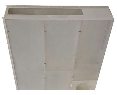 Plafond filtrant bloc opératoire