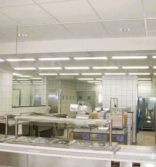 Plafond Cuisine Plafond de Cuisine Professionnelle-Plafonds filtrants ...